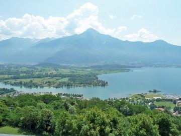 Seeblick zum Monte Legnone
