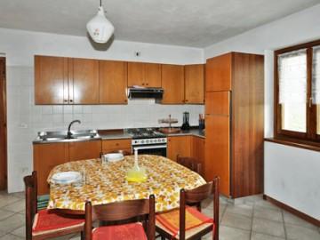 Ferienwohnung Comer See - Esszimmer / Küche