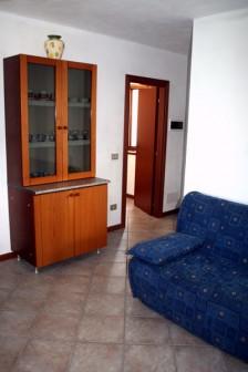 Ferienwohnung Comer See - Wohnzimmer mit Schlafcouch