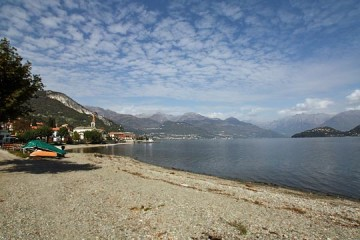 Strand in Pianello del Lario