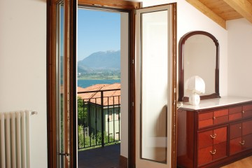 Ferienwohnung Comer See - Schlafzimmer Fewo 2