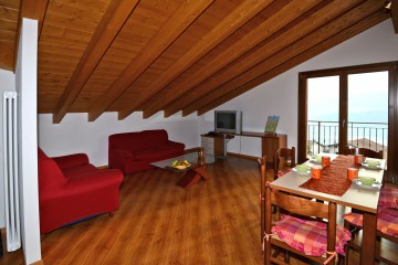 Wohnraum Fewo 2 Casa Antonella