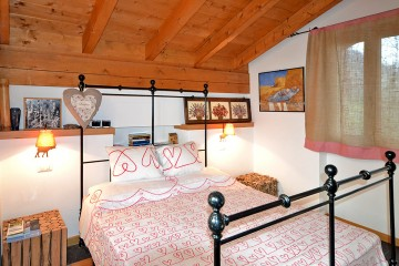 Ferienwohnung Comer See - Schlafzimmer