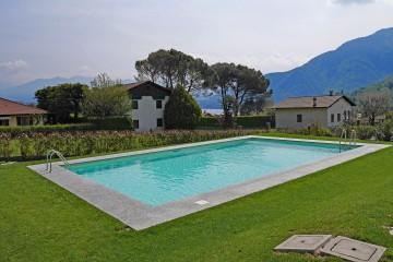 Pool - Residence San Lorenzi - Ferienwohnungen Comer See