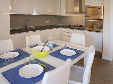Traumküche und Essplatz Residence San Lorenzi