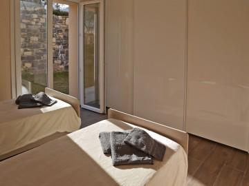 Ferienwohnung Comer See - Schlafzimmer 1
